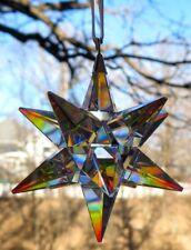 Swarovski Crystal Aurora Borealis 3-D Star Ornament (#5283480) Mint & New in Box