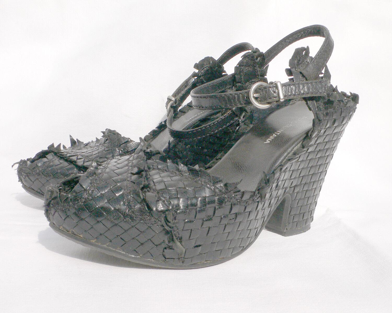 PONS QUINTANA Sandale Sandale Plateforme Semelle PLANTILLAS noir Gr. 36