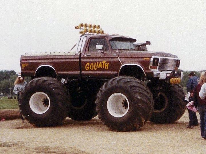 vertlight Pre-order 1979 Ford F-250 Goliath 66 in (environ 167.64 cm) avec pneus 1 18