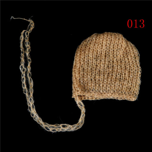 Baby Mohair knitting Bonnet Hat Newborn Photo Photography Prop Cap Outfits ÁÁ