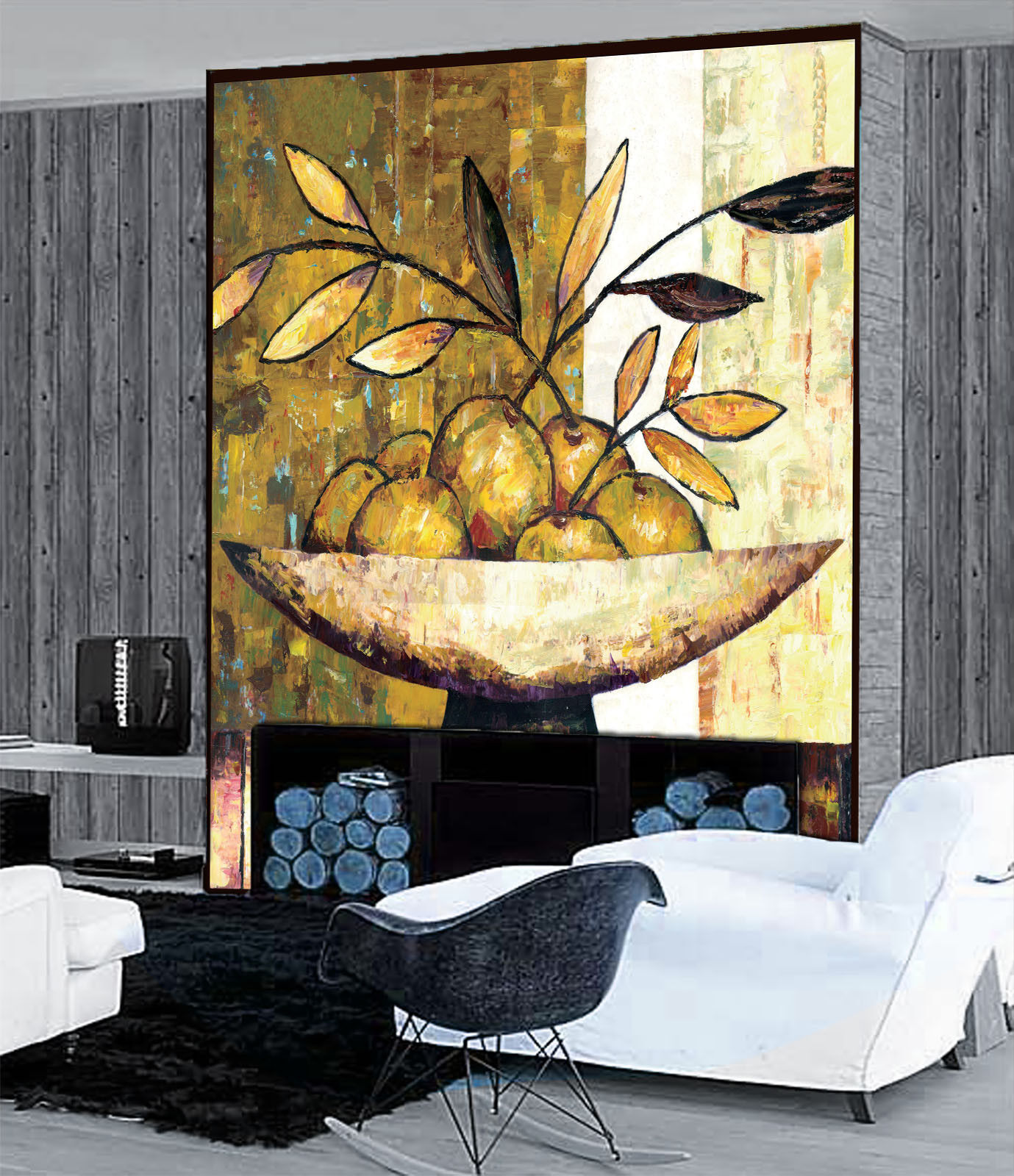 3D Fruit Plate Painting 452 Wall Paper Wall Print Decal Wall Deco Indoor Mural