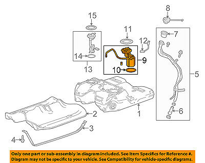 [GJFJ_338]  Cadillac GM OEM 14-16 SRX-Fuel Pump 13578360 | eBay | Cadillac Fuel Pump Diagram |  | eBay