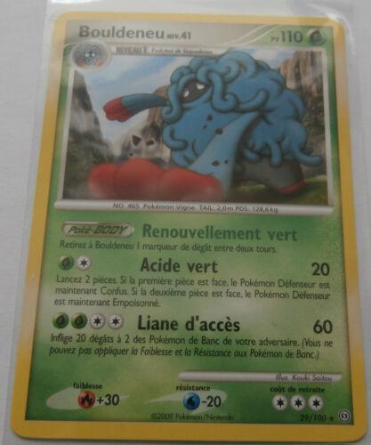 Carte Pokemon Bouldeneu 110 pv Diamant et Perle Tempête rare !!!