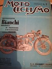 RIVISTA MOTO CICLISMO N. 25 23 GIUGNO 1938