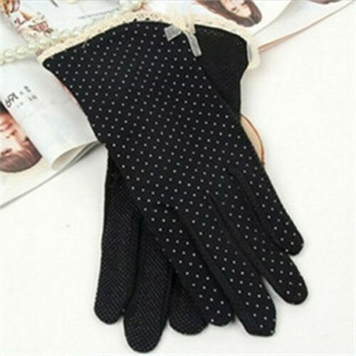Driving Ultraviolet Gloves Damen Soft Cotton Slip-resistente Sonnenschutz Damen