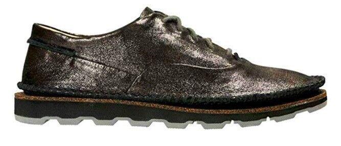 100% nuovo di zecca con qualità originale Clarks Damara Ava nero Bronze Metallic Glitter Leather Leather Leather Moc Oxfords donna 7  wholesape economico