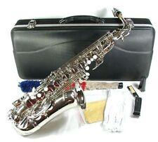Cherrystone silbernes Alt Saxophon Eb mit Koffer und Zubehör N