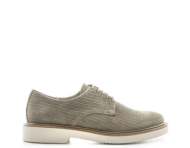 shoes ANTICA CUOIERIA men Stringate  grey Scamosciato 20166VEL-SAS