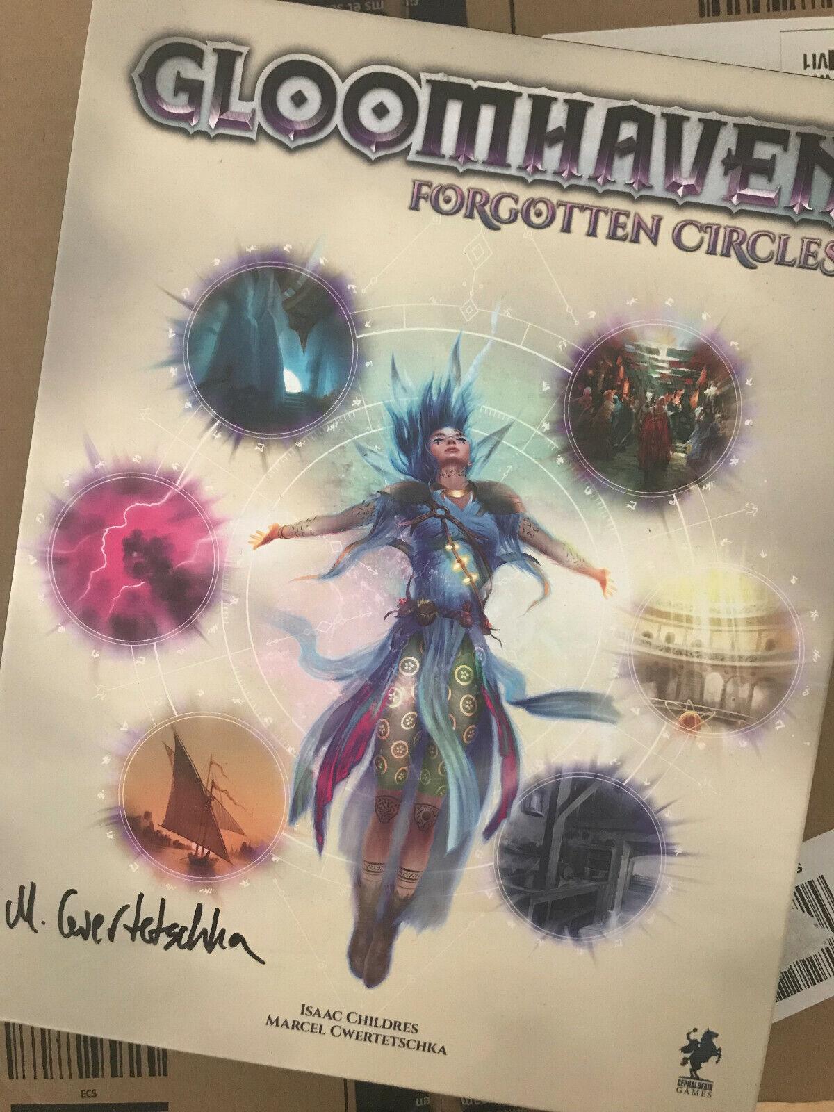Gloomhaven   Forgotten Circles-inglese version-signed by the Creator   prezzo più economico