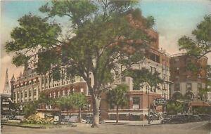 Savannah-Georgia-Hotel-De-Soto-Military-WWII-Pfc-Wm-Henry-Army-1943-Soldier-Mail