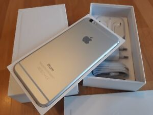 Apple-iPhone-6-Plus-128GB-Silber-WIE-NEU-simlockfrei-iCloudfrei