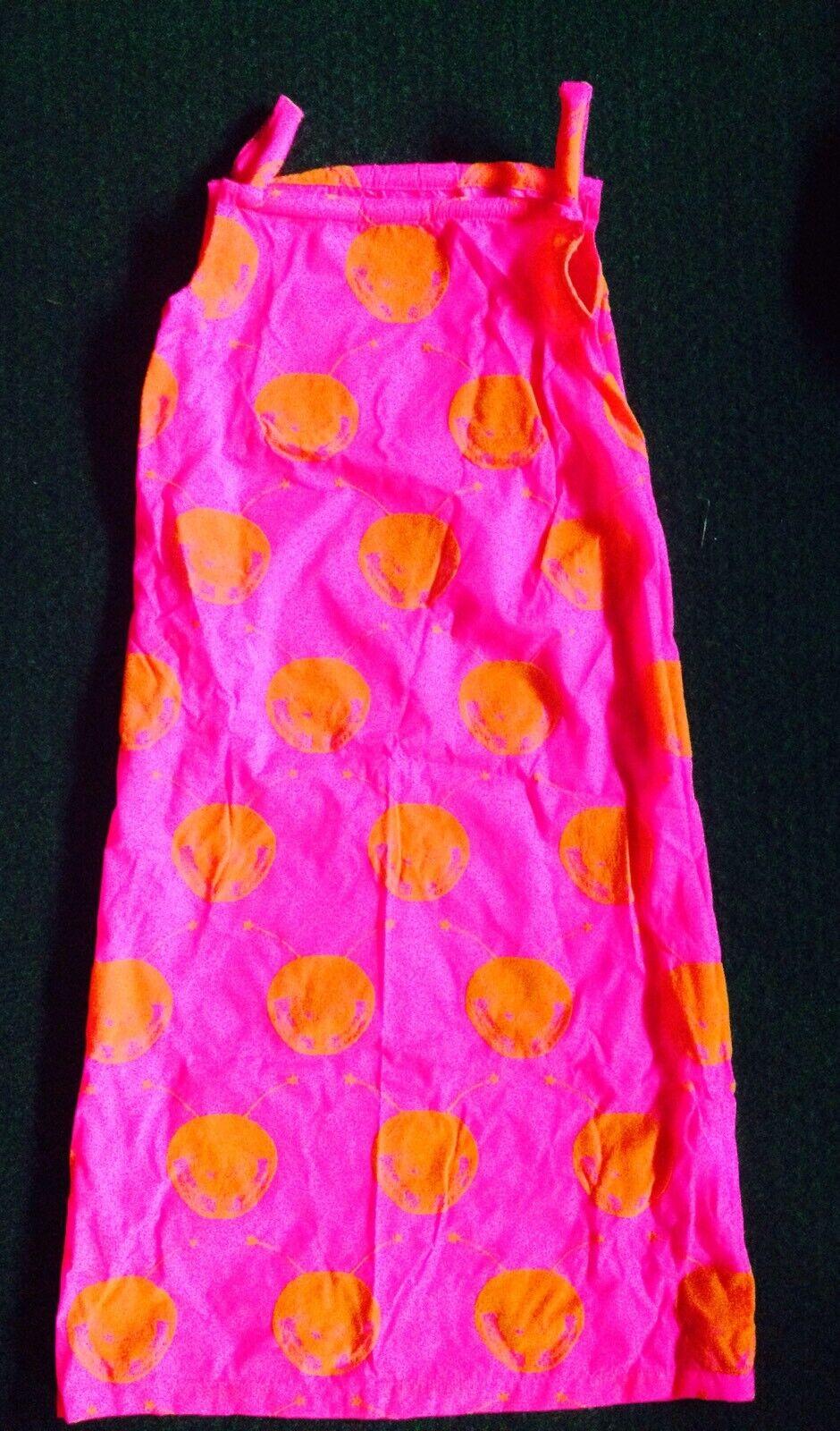 W< UV Neon Rave Festival Kleid 1995-1999