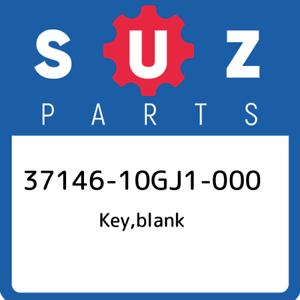 37146-10GJ1-000-Suzuki-Key-blank-3714610GJ1000-New-Genuine-OEM-Part