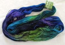400 yds! 100g Mountain Colors BEARFOOT SW Wool & Mohair Sock Yarn - Turtle Lake