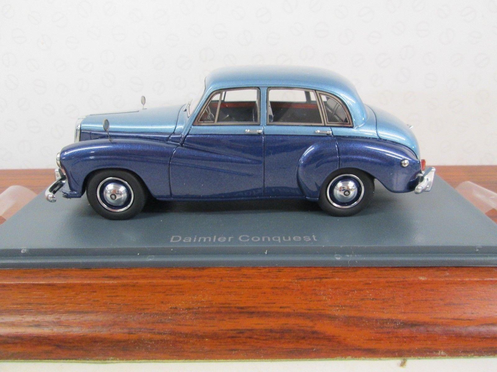 NEO. Daimler Conquest. 1953. Light & Dark bluee Met.1 43. Ltd Ed of 300. NEO45083