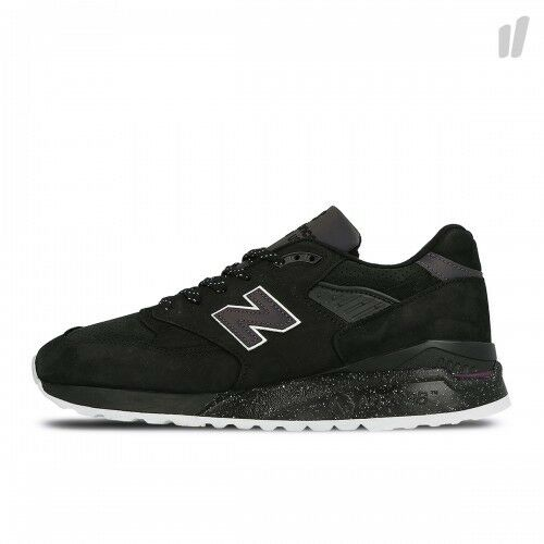 998 Size Suede Usa Uk Trainers 8 In Abk Black New Mens Balance Made q1EXgaw