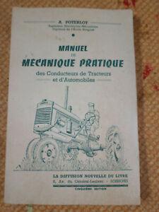 2019 Nouveau Style Ancien Manuel De Mécanique Pratique Et De Conduite Des Tracteurs Et Automobiles