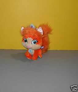 Details about Disney Princess Palace Pets Orange Treasure Plush Ariel's  Kitty 9