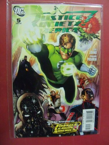 INCENTIVE   VARIANT JUSTICE SOCIETY OF AMERICA #5 DC COMICS 9.4 NM  OR BETTER