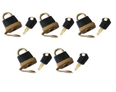 Padlock 246-2641 2462641 /& Key 5P8500 for Caterpillar 725 730 735 740 D250E 385C