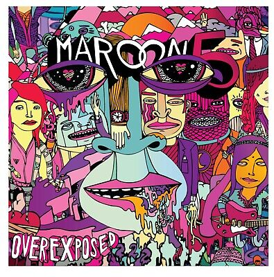 "Maroon 5 Overexposed Album Cover Art Print Poster 24/"" x 24/"""