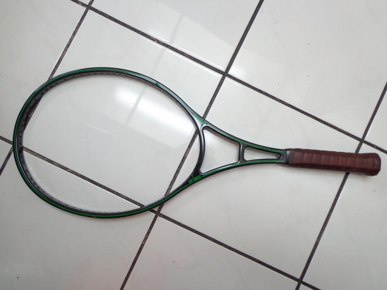 NEW RARE Prince Original Graphite 110 4 5/8 grip bumperless Tennis Racquet