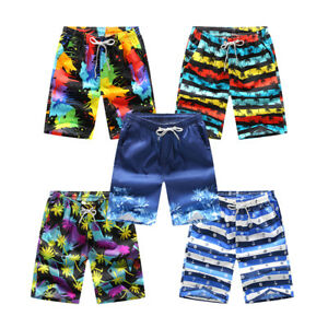 Men-Summer-Shorts-Pants-Beach-Swim-Pants-Surfing-Board-Casual-Quick-Dry-Pants