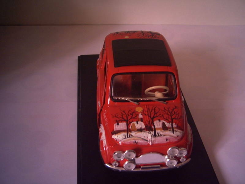 Fiat 500 sc1 18 with Decorations Handmade.