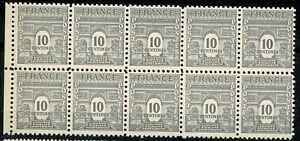 France-1944-Bloc-de-10-n-621-Neuf-luxe-MNH