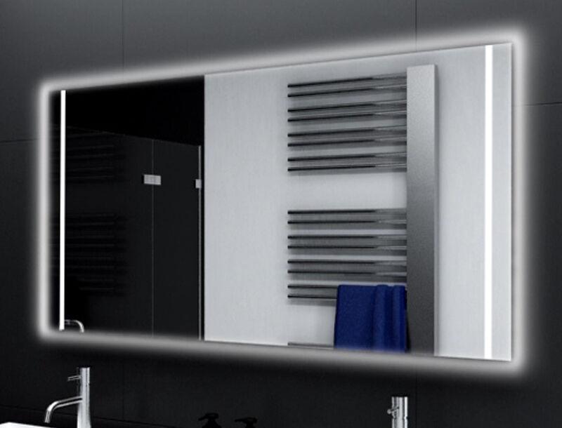 Badspiegel mit LED Beleuchtung Badezimmerspiegel Bad Spiegel Wandspiegel M169