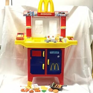 Details About Mcdonalds Vtg Drive Thru Restaurant W Sounds Food Pretend Work At Mcdonalds Toy