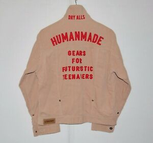 HUMAN-MADE-Corduroy-Bomber-Jacket-Made-In-Japan-Msrp-539-sz-L
