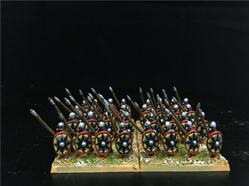 15mm DPS painted Medieval DBM DBA FOG Thermatic Byzantine Skoutatoi GH1035