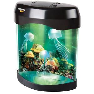 Multicolor-LED-Desk-Light-Swimming-Jelly-Fish-Tank-Aquarium-Lamp-for-Home-Decor