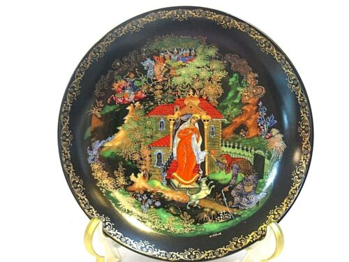 "RUSSIAN LEGENDS II "" THE PRINCESS AND THE SEVEN BOGATYRS "" COLLECTOR PLATE"