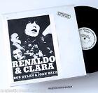 ORIGINAL PROMO ONLY BOB DYLAN RENALDO & CLARA VINYL EP 1978 N.MINT VERY RARE