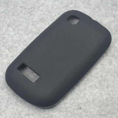 New Black TPU Matte Gel skin Case Cover For Nokia Asha 200 201
