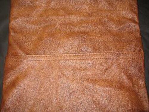 Nuevo Star Parche Marca Genuine Leather Fundas De Almohada 18 Pulgadas-elección de colores!