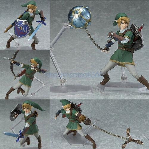 Twilight Princess Link DX Ver The Legend of Zelda Figure Figma 320 Toy In Box