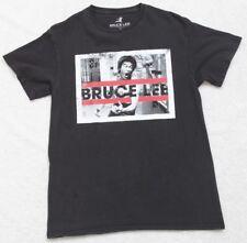 Trevco Bruce Lee Yellow Jumpsuit Short Sleeve Toddler Tee Black