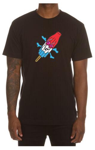 ICECREAM Peralta SS Tee 401-2201 Black T-Shirt 2020 BBC Brand New