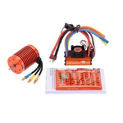 SKYRC 12T 3300KV Brushless Motor & 60A ESC & Program Card for 1/10 RC Car E9W6