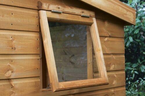 """24/"""" 18/"""" 2mm in policarbonato trasparente 610 mm Capanno RICAMBIO PANNELLO finestra x 457 mm"""