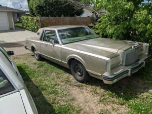 1981 Lincoln continental