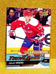 2016-17-JAKUB-VRANA-Young-Guns-Exclusives-100-Rookie-Clean-Centered-Sharp-520