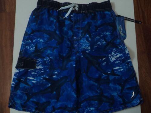 18 Ragazzi Pocket In Xl Design Water Swimwear Con Taglia Sharks Blu nHqHZ1I