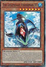 YU-Gi-Oh card: il leggendario PESCATORE III-STAR RARA-sp17-en028 - 1st Edizione