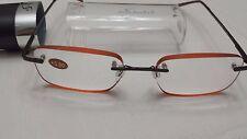 $19.99 in Sight  +3.00  Expresso Edge Glow Frameless  Reading Glasses Hard case