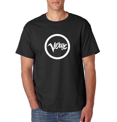 VERVE Records T-Shirt Retro Vintage Jazz Music Label Nina Simone Ella S-6XL Tee