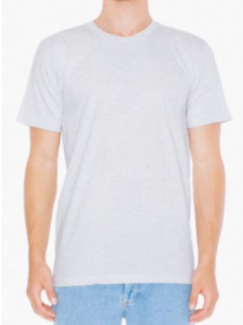 ORIGINAL-American-Apparel-Fine-Jersey-Crew-Neck-T-Shirt-Tee-Shirt-Ash-Light-Gray